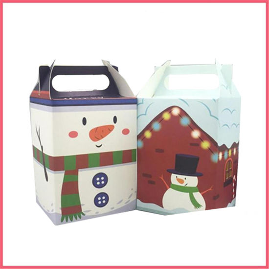 Custom Printed Christmas Paper Box Manufacturer Supplier Factory