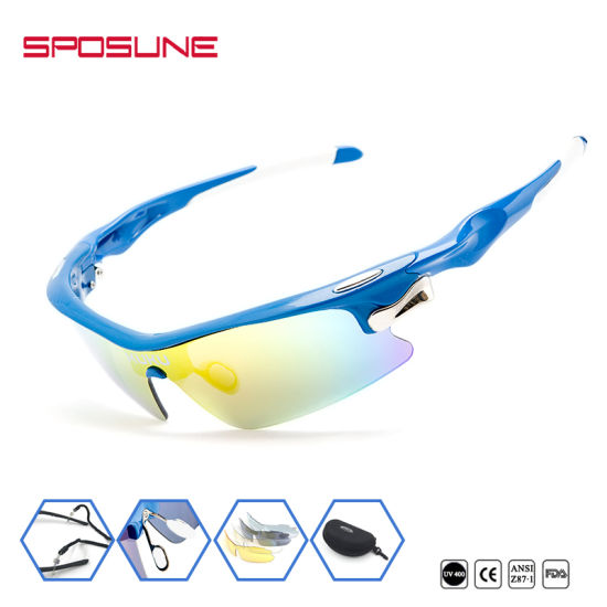 b9d704046f Factory Wholesale Polarized Anti Glare Cycling Glasses Prescription Bike  Riders Sunglasses for Driving Volleyball Tennis pictures