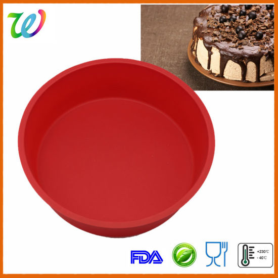 Fdalfgb Silicone 8 Inch Round Cake Pan Pizza Pan Pictures P Os