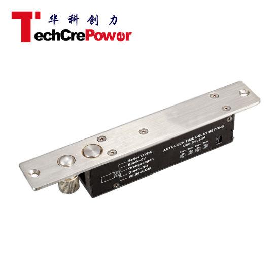 Signal Output & Auto No/Nc Lock Time Delay Electric Drop Bolt Fail Safe  Door Lock