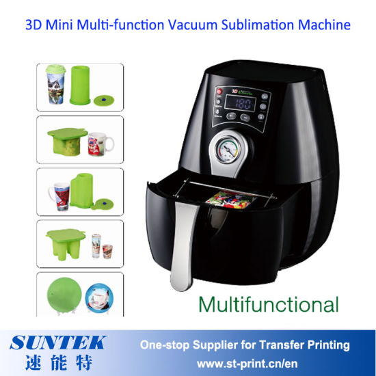 Brand New Smart 3D Mini Vacuum Sublimation Printing Machine pictures & photos