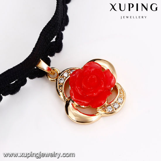 43707 Xuping Fashion Hotsales Gold Jewelry Alloy Necklace Chain for Men pictures & photos