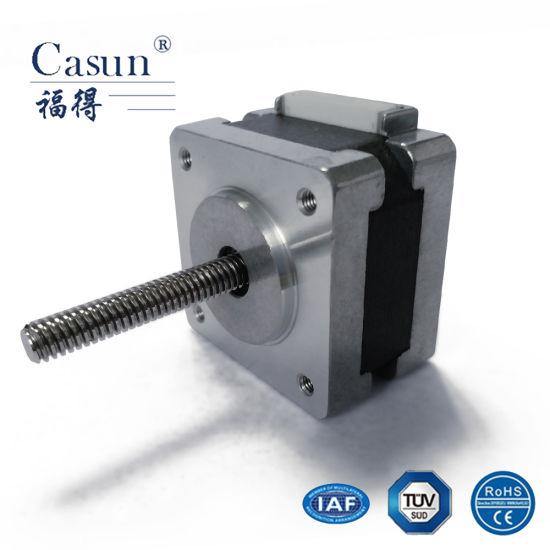 China Lead Screw NEMA 14 Stepper Motor for 3D Printer