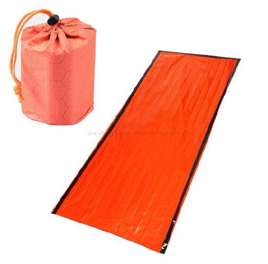 OEM PE Aluminum Film Cold Preservation Emergency Simple Sleeping Bag