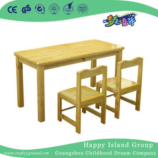 School Solid Wooden Antique Children Double Desk (HG-3904) - China School Solid Wooden Antique Children Double Desk (HG-3904