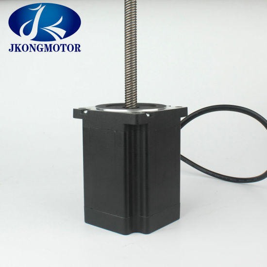 86mm (NEMA34) 2phase Hybrid Screw Rod Stepper Motor with Good Quality pictures & photos