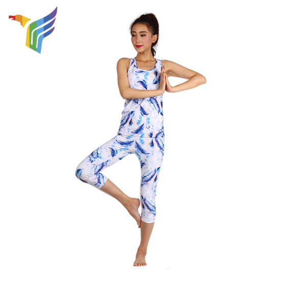 Nude yoga sport
