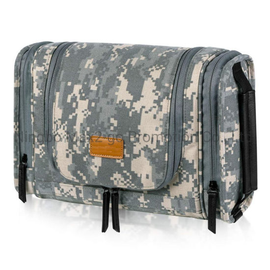 Travel Hanging Toiletry Bag for Men Dopp Kit Waterproof Toilet Organizer Bag