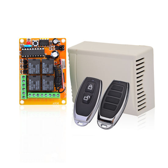 China DC 12V RF Wireless Remote Control Relay Switch for Automatic