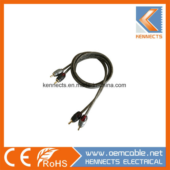 Ke R8 AV Cable High Performance OFC Audio Cable pictures & photos