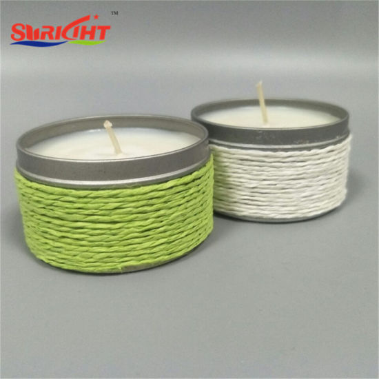 Pretty Tin Candles Made by Natural Soy Wax