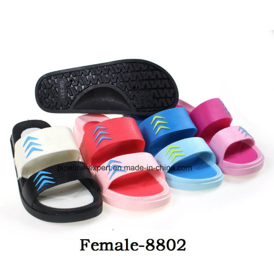Multi Color PVC EVA Rubber Slipper for Women Home Saddles