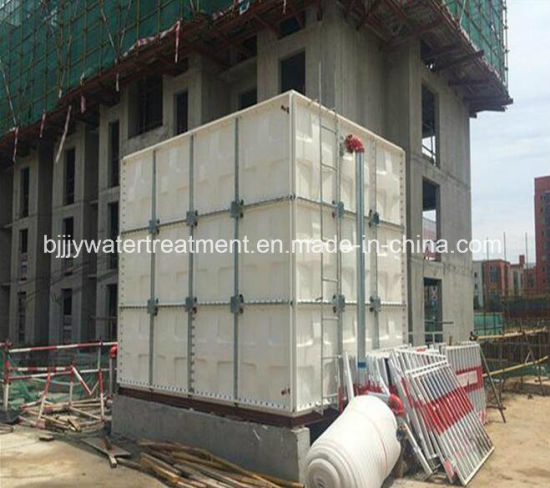 Fiberglass GRP FRP Water Tank Price for Water Treatment
