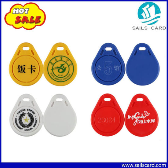 Shenzhen Factory Mf Classic 1k Key FOB Card pictures & photos