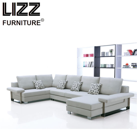 China Comfortable High Quality U Shape Fabric Sofa China Modern