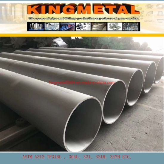 A312 304/316/310S/321/321H /347H Seamless Stainless Steel Pipe