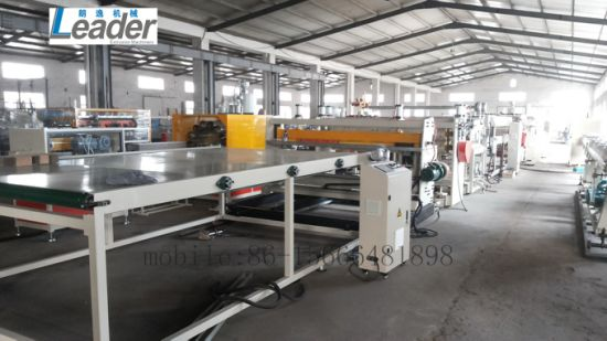 PC PE PP Hollow Sheet Extrusion Line pictures & photos