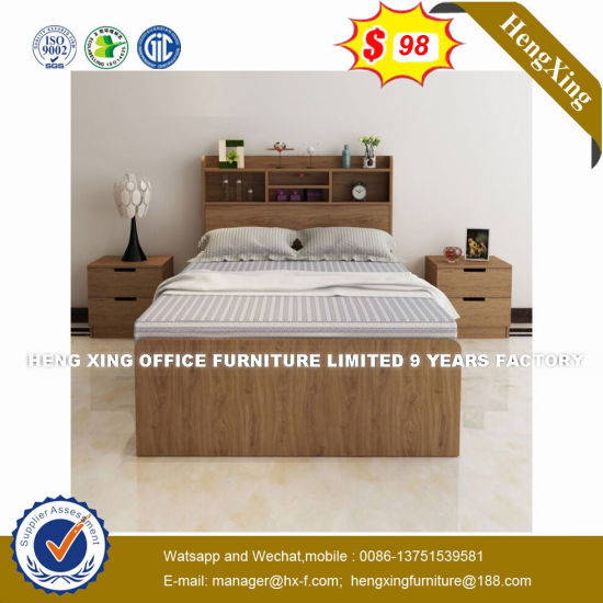 Space Saving Foldable Honey Color Storage Bed (HX-8NR0847) pictures & photos