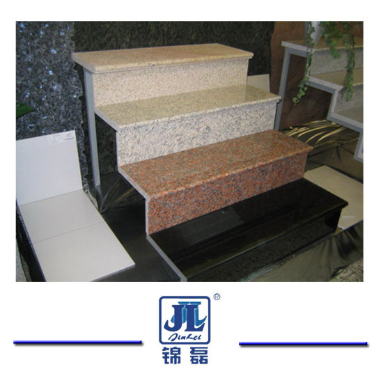 Cheap Natural Granite Stone Stairs/Steps/Step&Riser/Treads for outdoor Indoor pictures & photos