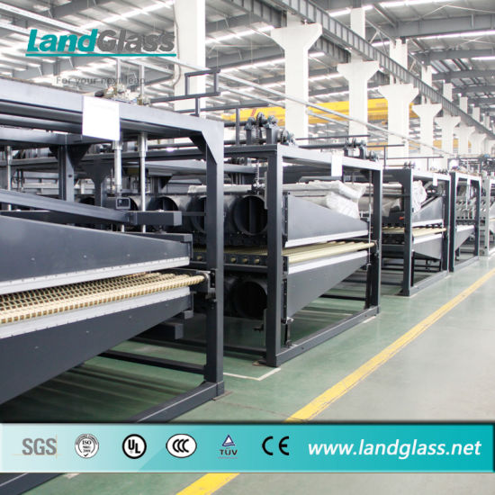 Landglass Jet Convection Flat and Bending Tempered Glass Machine for Tempering Glass pictures & photos