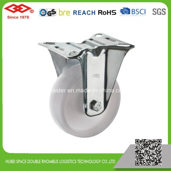 125mm Rigid Industrial Plastic Caster (D103-30D125X35)