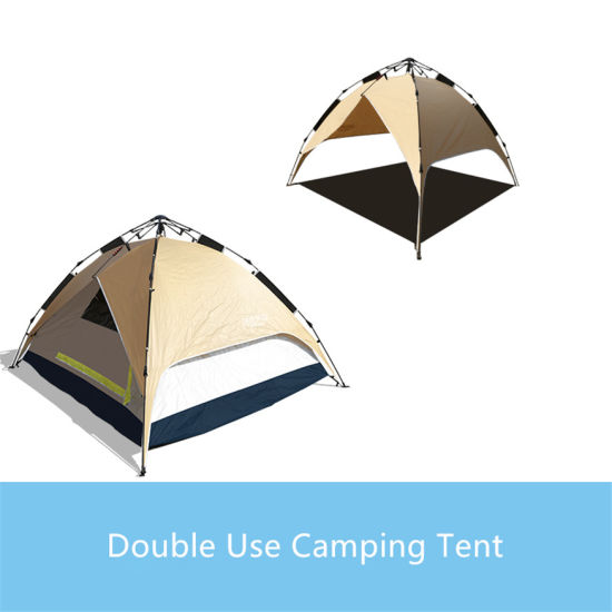 3-4 Person Double Layer Dual Doors Outdoor C&ing Tent Four Season Family Tents for Adventure Tent  sc 1 st  Beijing Unistrengh International Trade Co. Ltd. : four season family tent - memphite.com
