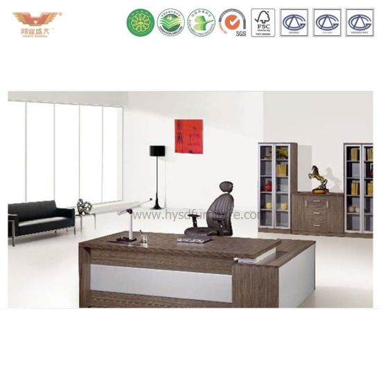 China Office Table In Wooden Top With Drawer High Quality Desk - High top office table