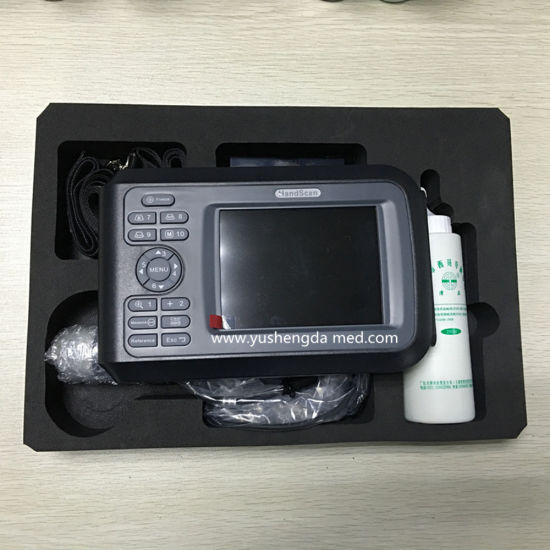 Ce Approved Long Hours Operational Portable Veterinary Ultrasound Scanner pictures & photos