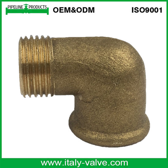 New Model Plumbing Hose Brass Male Female Elbow Pipe Connector