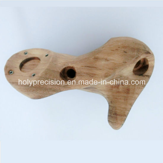 CNC Machininig for Wood Parts of Handle pictures & photos