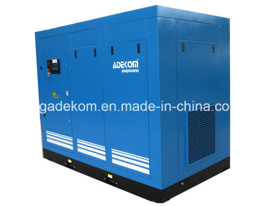 Adekom Air Cooled Screw Oil Injected Rotary Compressor (KE132-13) pictures & photos