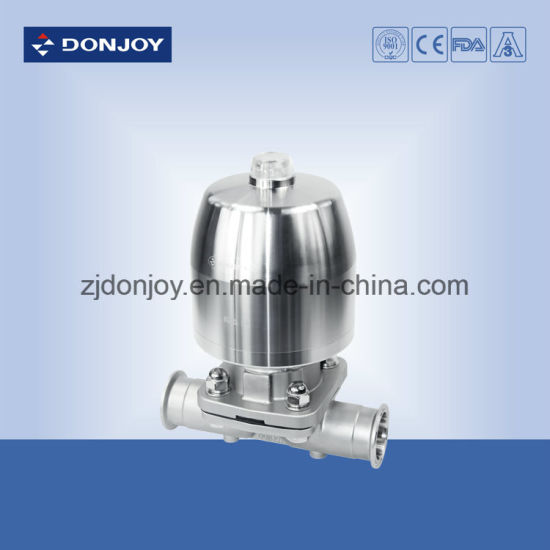 Ss 316L Pneumatic Diaphragm Valve with Mini C-Top Control Unit pictures & photos