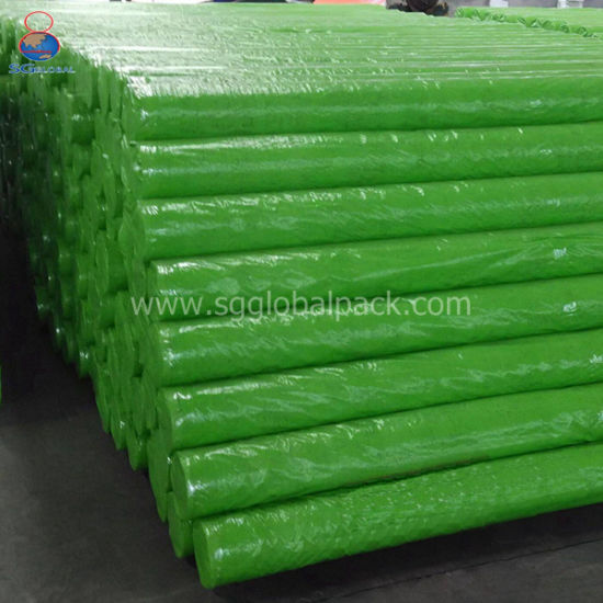 Double Coated 2.44m Green PE Tarpaulins for Covering