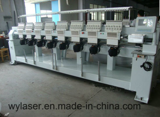 Programmable Multi-Head Wonyo Type Cap Embroidery Machine---Wy908c/Wy1208c pictures & photos