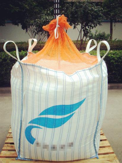 Mesh Skirt Jumbo Bag for Potato with Ventilated Fabric