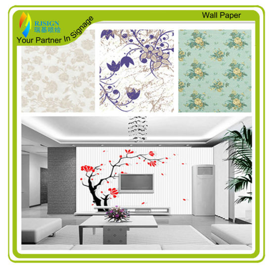 High Quality Home Decor Interior Wall Papers For Printing RJPB101 Pictures Photos