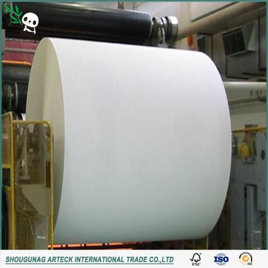 Lonfon White 80GSM Woodfree Offset Paper for Packing pictures & photos