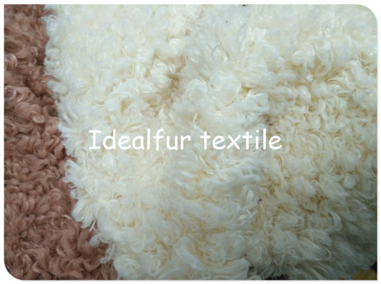 Super Curly Polyester Long Fake Fur