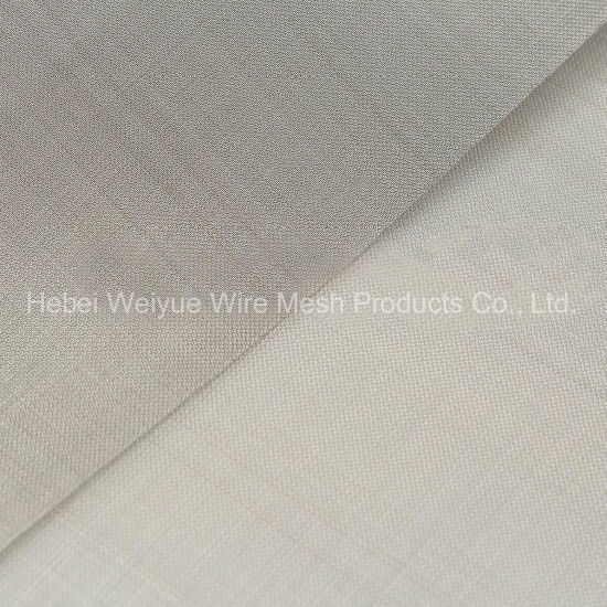 High Quality Crimped SS304 316 Stainless Steel Square Metal Woven Screen Filter Wire Mesh for Extruder Screens