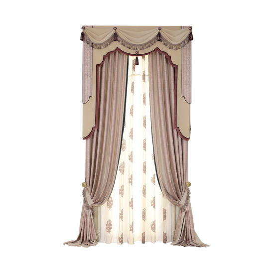 China Living Room Curtain American Pattern Curtain Sets - China Home ...