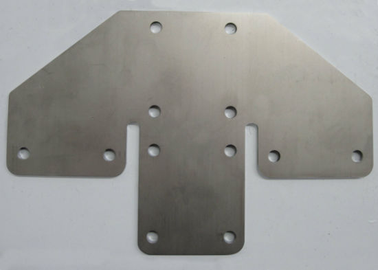 Flat Matel Stamping Part for Outdoor Advertising Fixing and Displaying pictures & photos