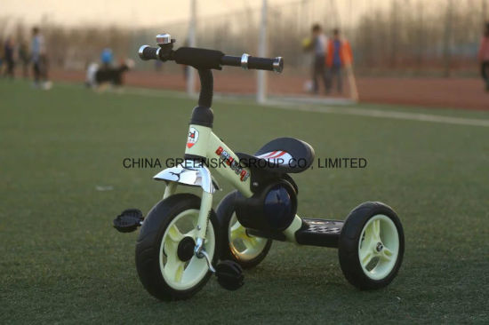 2016 High Quality Steel Frame Child Tricycle for Kids with EVA/Air Tyre