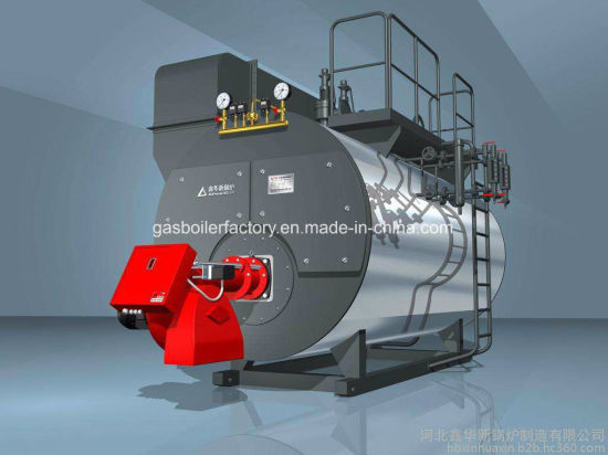 China Factory Prices New Industrial Wns Steam Gas Fired Boiler ...
