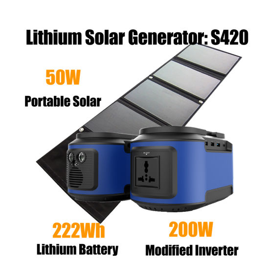 China Home Use off Grid Solar PV Panel Kit Energy Power