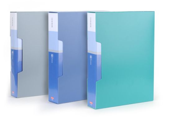 Oasis Clear Book/Display Book 80 Pages with Box
