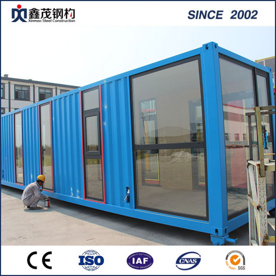 Sandwich Panel Prefabricated Container House for Single Apartment pictures & photos