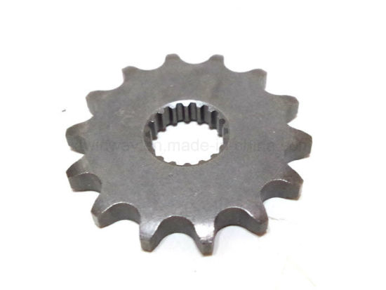 High Quality Motorcycle Front Sprocket 14 Tooth for Honda Cg125 pictures & photos