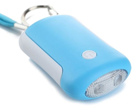 Portable Egg Shape LED Personal Alarm (HW-740) pictures & photos