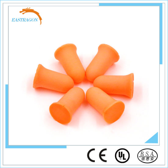 Anti-Noise Soft PU Disposable Earplugs pictures & photos