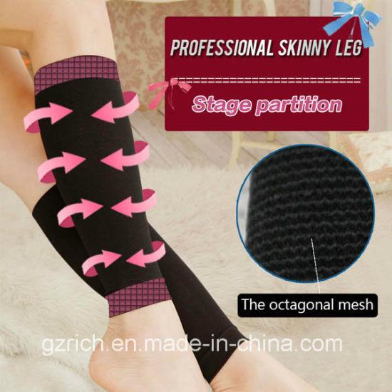 China Fat Burning Sleep Slim Leg Compression Stovepipe Socks - China ... 1ab92f9b9720